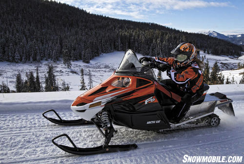 2013 Arctic Cat F500 Action