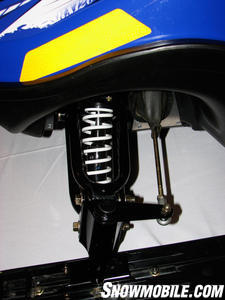2013 Yamaha SRX 120 Suspension