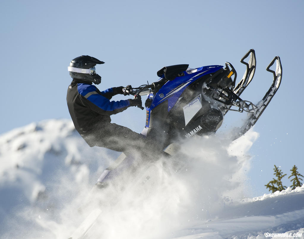 2013 yamaha fx nytro mtx 162 for Yamaha snow mobiles