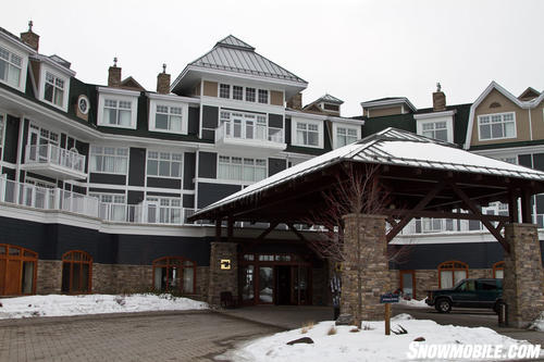 J.W. Marriott Rosseau Entrance