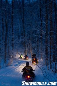OFSC Snowmobile Trails Evening Ride