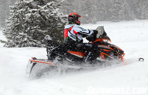 2013 Arctic Cat XF1100 Cross Tour Action