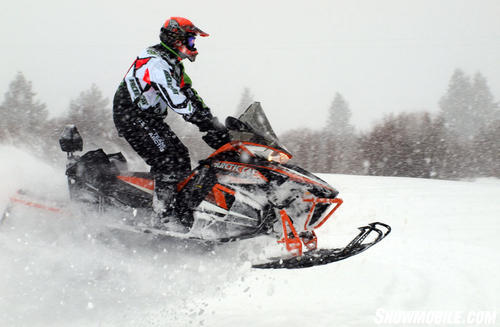 2013 Arctic Cat XF1100 Cross Tour Jumping