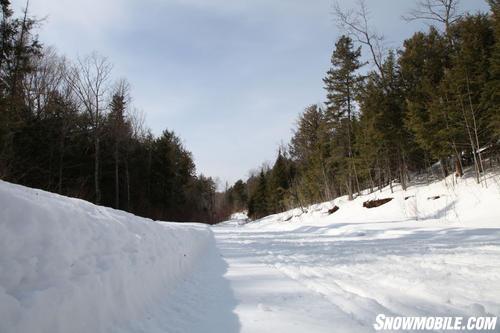 Perfect Snowmoible Trails