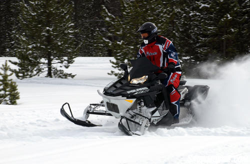 2013 Polaris 800 Switchback Adventure Action