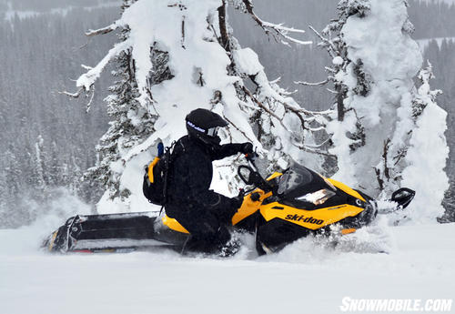 2013 Ski-Doo Summit X Action
