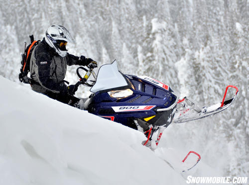 2013 Polaris 800 Pro-RMK Blue Action