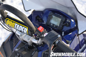 2013 Polaris 800 Pro-RMK Handlebar