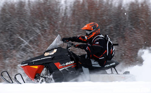 2013 Polaris 600 Indy SP Action