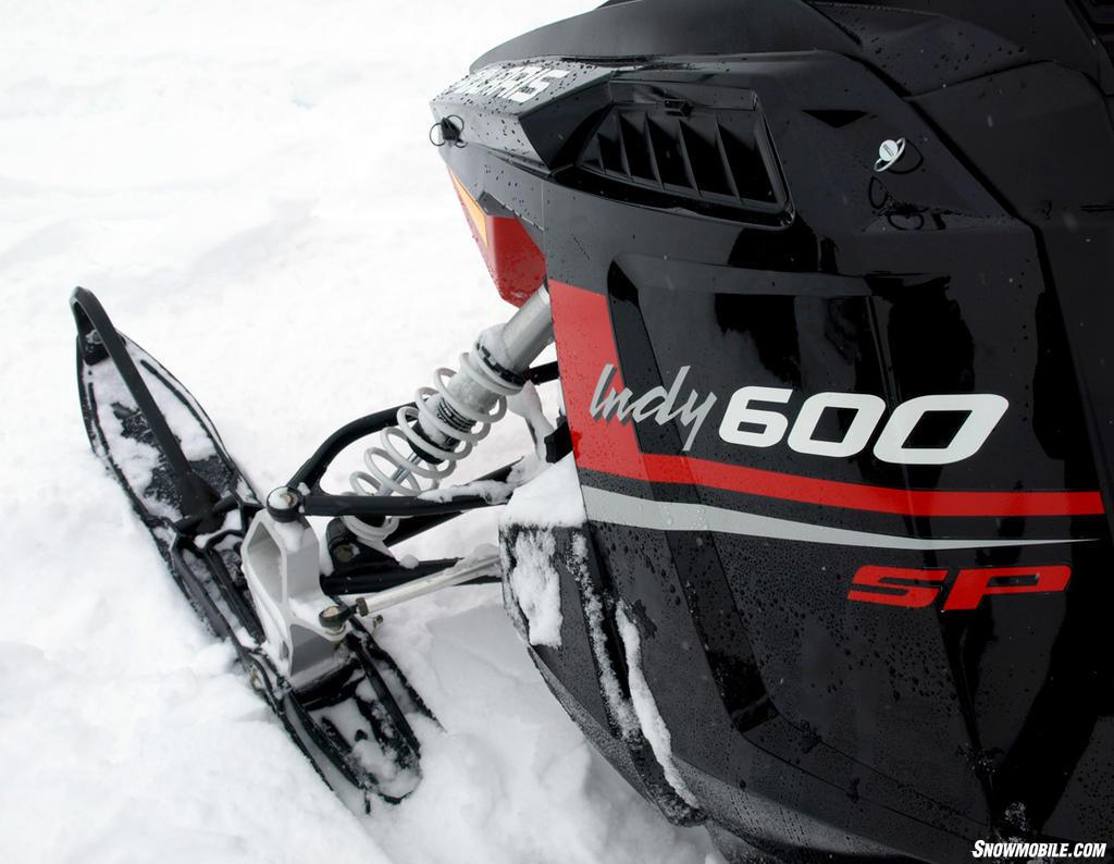 > 2013 Polaris 600 Indy SP Ski A-arm