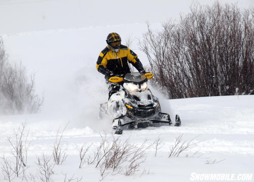 2013 Ski-Doo Renegade X 1200 Action
