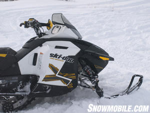2013 Ski-Doo Renegade X 1200 Front End