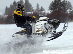 2013 Ski-Doo Renegade X 1200 Jumping