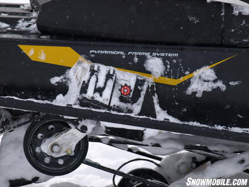 2013 Ski-Doo Renegade X 1200 rMotion knob
