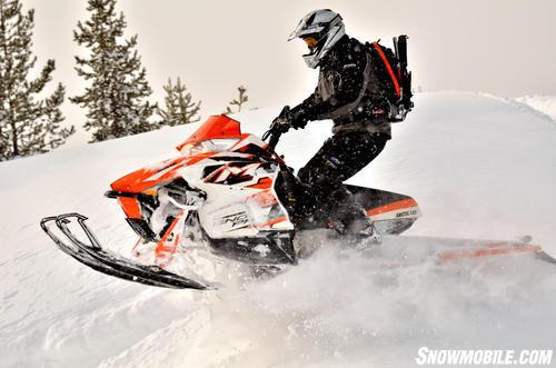 2013 Arctic Cat M8 Sno Pro Jump
