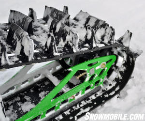 2013 Arctic Cat M8 Sno Pro PowerClaw 2.6 track