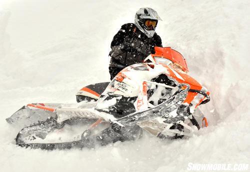 2013 Arctic Cat M8 Sno Pro Sidehill