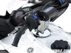 2013 Yamaha Apex SE handlebar