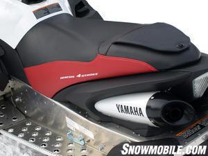 2013 Yamaha Apex SE seat exhaust