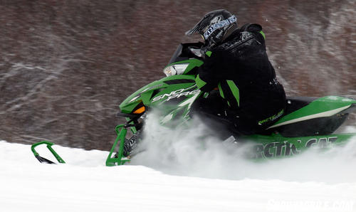 2013 Arctic Cat F800 Sno Pro RR Action