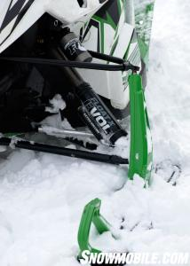 2013 Arctic Cat F800 Sno Pro RR Fox Evol Shocks