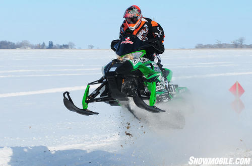Arctic Cat Race Sled