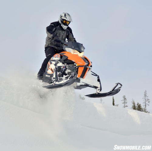 2012 Arctic Cat M800 Berm