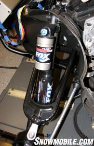 Yamaha Nytro Fox shock and A-Arm