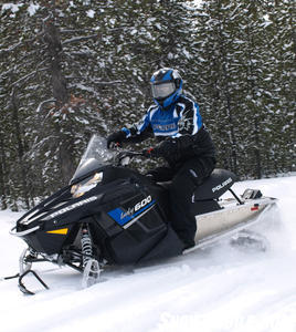 2013 Polaris Indy 600 Action