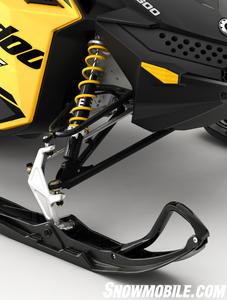 2013 Ski-Doo MXZ Sport 600 Shocks