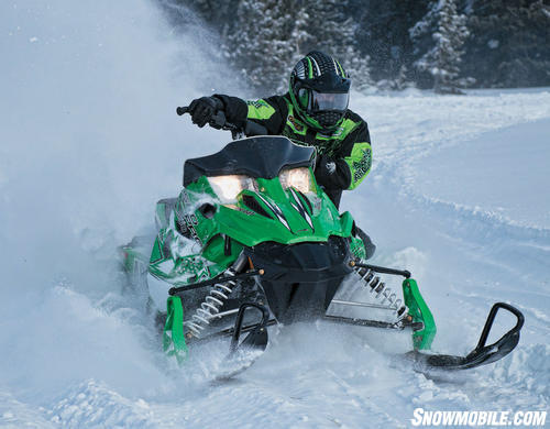 2013 Arctic Cat Sno Pro 500 Action