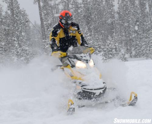 2013 Ski-Doo MXZ X 600 E-TEC Action