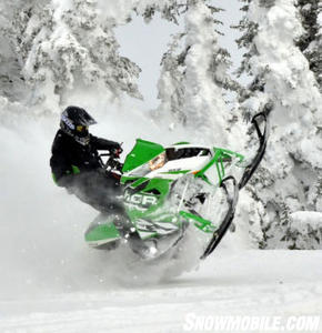 2013 Arctic Cat M1100 Turbo Sno Pro Jumping