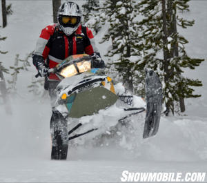 2013 Ski-Doo Freeride Lifted Nose