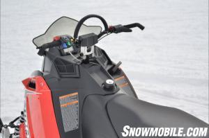 2013 Polaris 600 RMK Cockpit