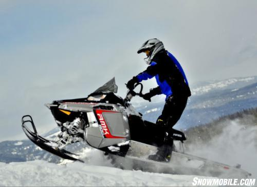2013 Polaris 800 RMK Launching