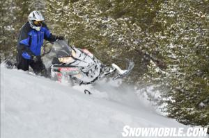2013 Polaris 800 RMK Sidehilling
