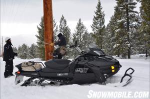 2013 Ski-Doo Tundra Xtreme Working