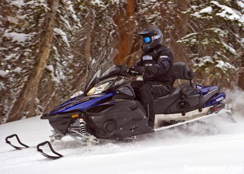 2013 Yamaha Venture TF Action Off Trail