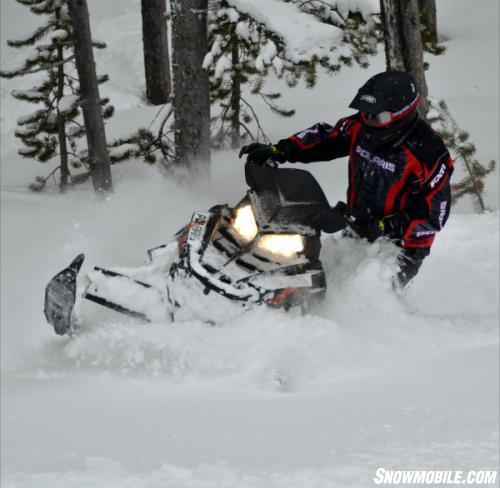 2013 Polaris 800 Switchback Assault 144 Deep Powder
