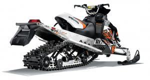 2013 Polaris 800 Switchback Assault 144 Rear View