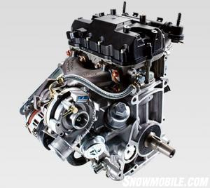 2013 Polaris Turbo IQ LXT Engine