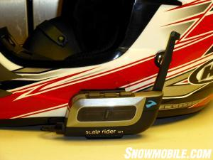 Scala Rider G4 Installed MX Helmet