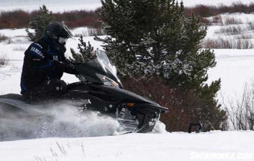 2013 Yamaha Vector Sidehill