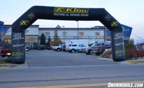 Rexburg Motor Sports Snowmobile Show Entrance