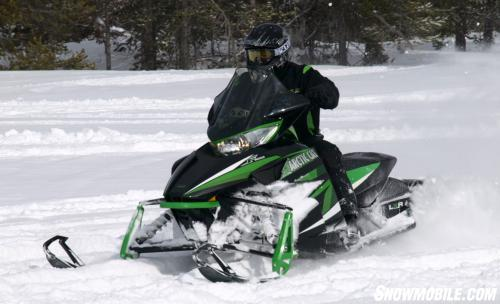 2013 Arctic Cat F1100 LXR Action