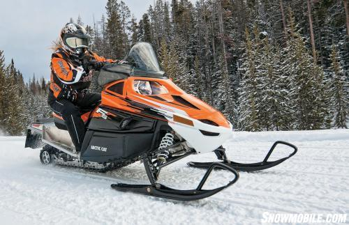 Arctic Cat F5 Orange