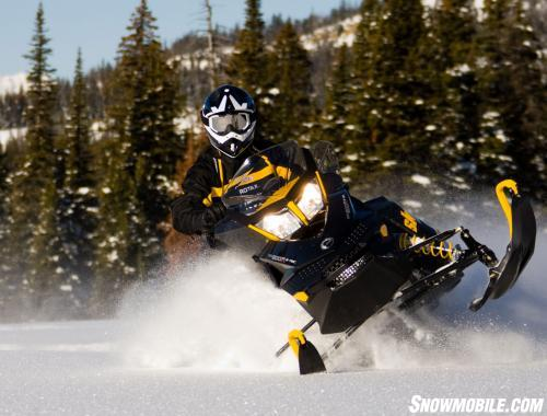 2013 Ski-Doo Renegade X 800 Action Front