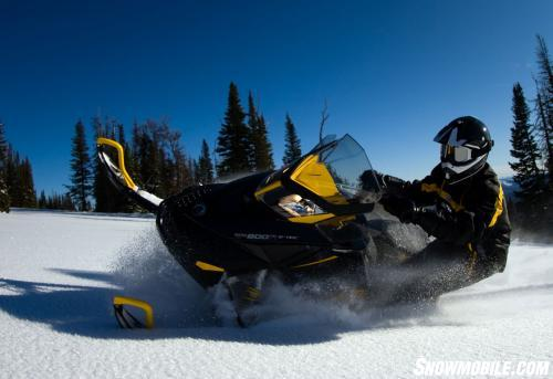 2013 Ski-Doo Renegade X 800 Action Snow