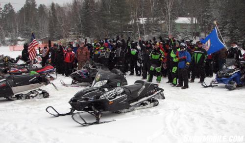 Minnesota Veterans Ride Group Photo